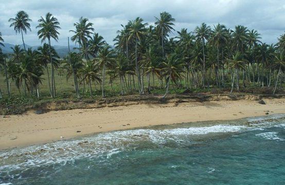 Działka inwestycyjna z 640m. linii brzegowej karaibskiej plaży!