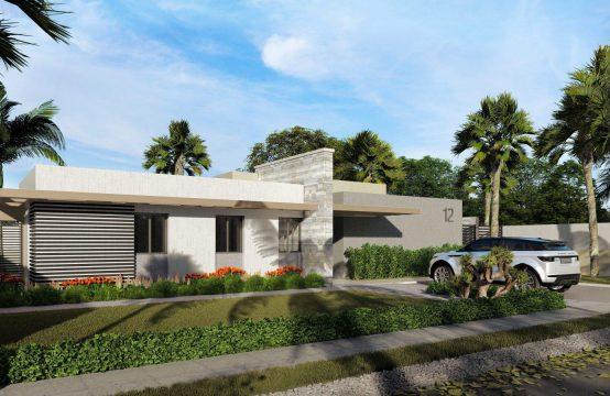 Dom w nowym projekcie niedaleko lotniska Punta Cana