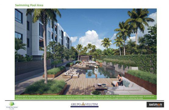 Trzypokojowe mieszkanie w prestiżowej Punta Cana Village/Gren One II